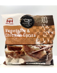 NH FOOD VEGETABLE&CHICKEN GYOZA - 600g