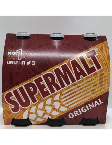 SUPERMALT ORIGINAL NON-ALCOHOLIC MALT BEVERAGE WITH B VITAMINS - 6X330ml