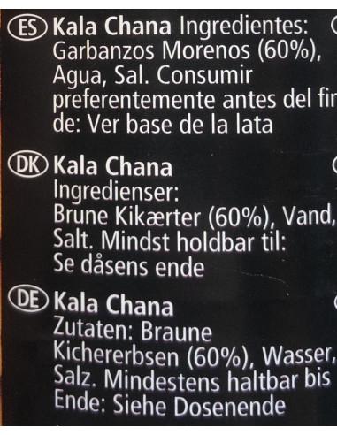 KTC KALA CHANA IN SALTED WATER - 400g