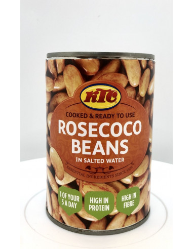 KTC ROSECOCO BEANS IN SALTED WATER - 400g