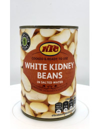 KTC WHITE KIDNEY BEANS IN SALTED WATER - 400g