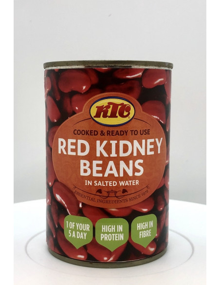 KTC RED KIDNEY BEANS IN SALTED WATER - 400g