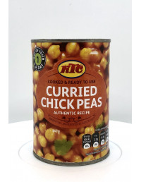 KTC CURRIED CHICK PEAS AUTHENTIC RECIPE - 400g