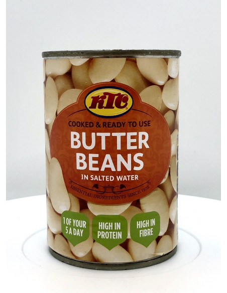 KTC BUTTER BEANS IN SALTED WATER - 400g