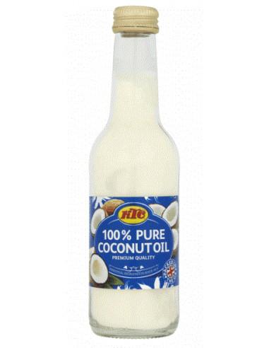 KTC PURE COCONUT OIL (GLASS) - 250ml