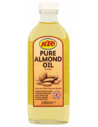 KTC ALMOND OIL (GLASS) - 200ml