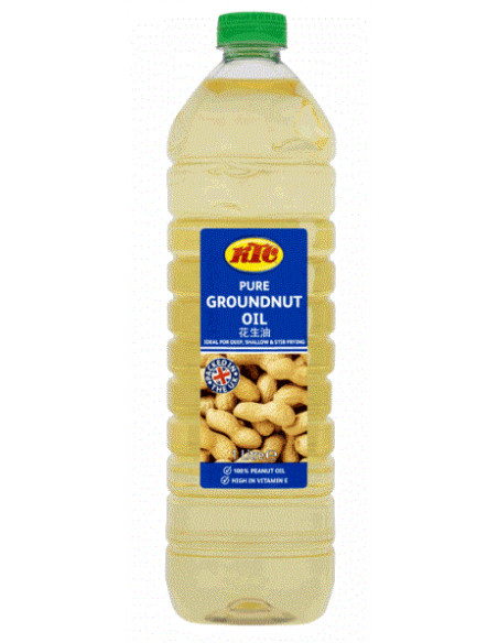 KTC GROUNDNUT OIL (PET) - 1L