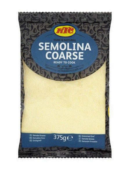 KTC SEMOLINA COARSE - 375g
