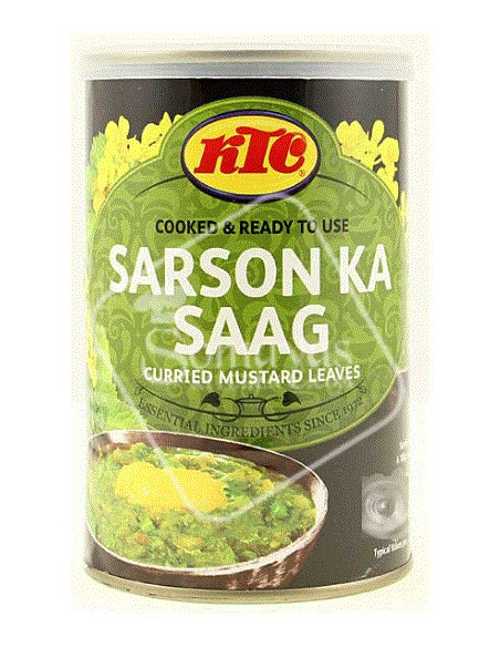 KTC SARSON KA SAAG - 425g