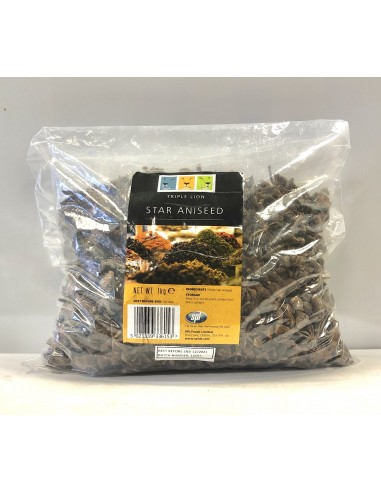 TRIPLE LION STAR ANISEED - 1kg