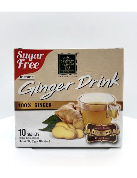 RANONG TEA 100% GINGER DRINK - 5gX10 SACHETS