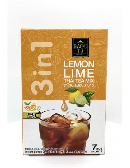 RANONG TEA LEMON LIME THAI TEA MIX - 25gX7 SACHETS