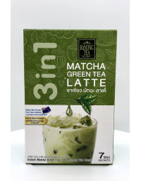 RANONG TEA MATCHA GREEN TEA LATTE - 23gX7 SACHETS