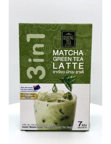 RANONG TEA MATCHA GREEN TEA LATTE - 23gX7 SACHETS