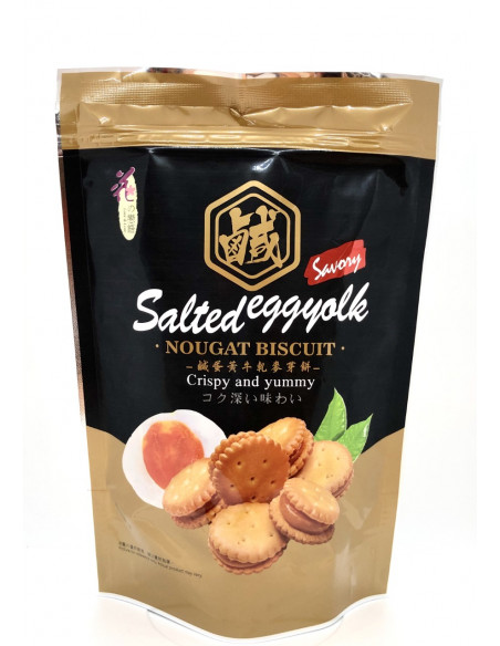 LOVE & LOVE BOUGAT BISCUIT SALTED EGG YOLK FLAVOUR - 72g