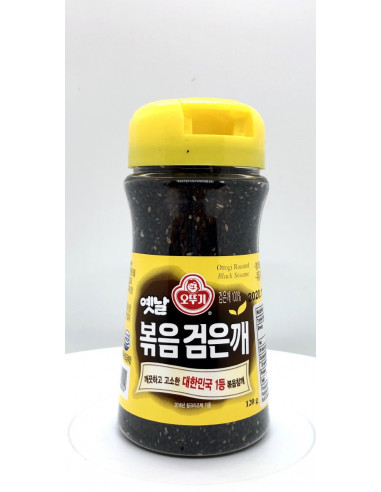 OTTOGI ROASTED BLACK SESAME - 120g