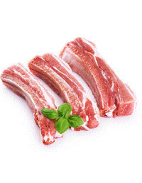 FRESH PORK RIBS - 1KG