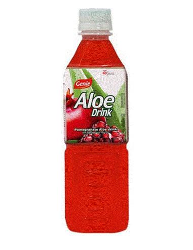 GENIE POMEGRANATE ALOE DRINK - 500ml