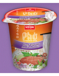 PHO VIETNAMESE STYLE BEEF FLAVOR INSTANT RICE NOODLES - 60g