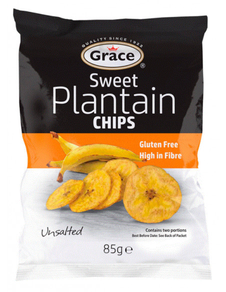 Grace Sweet Plantain Chips - 85g