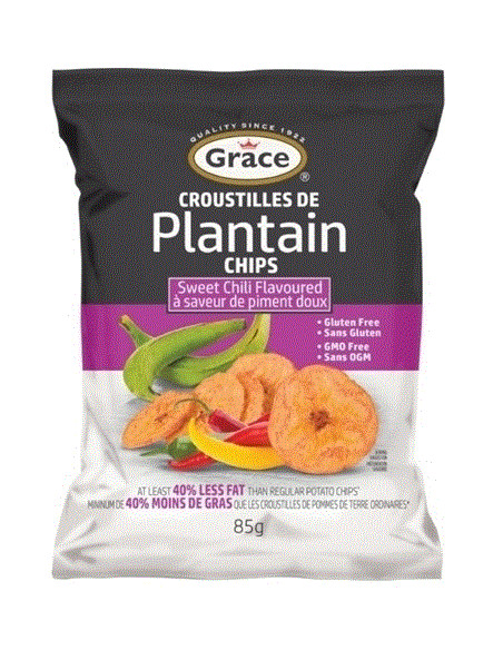 Grace Sweet Chilli Plantain Chips - 85g