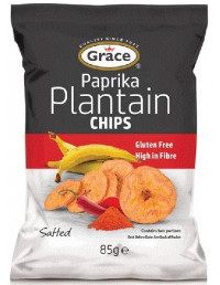 GRACE PAPRIKA PLANTAIN CHIPS - 85g
