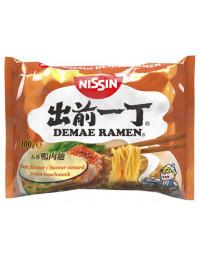 Nissin Demae Ramen Duck Instant Noodles - 100 g