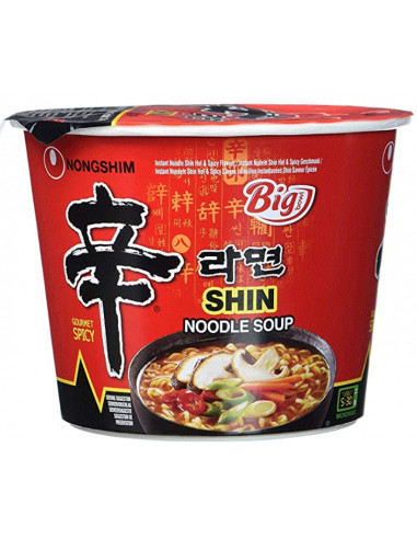 NONGSHIM SHIN HOT & SPICY NOODLE - 114g