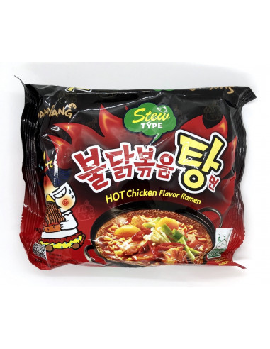 SAMYANG HOT CHICKEN FLAVOUR RAMEN STEW TYPE 145GM