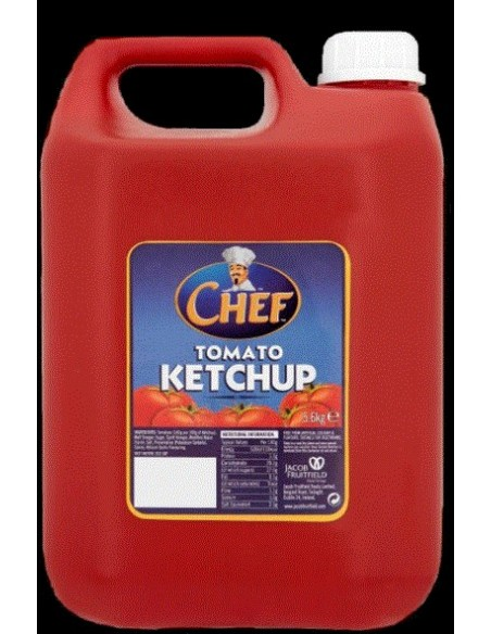 Tomato Ketchup - 5.6kg - Chef