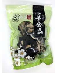 DOUBLE SWALLOW FLOWER DRIED WHITE BLACK FUNGUS - 100g