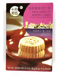 OCTOBER FIFTH BAKERY MINI APRICOT KERNEL CAKES - 88g