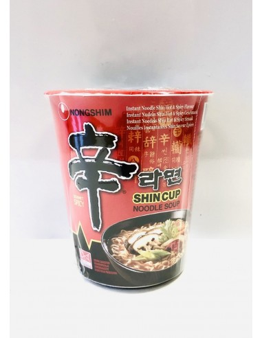 NONGSHIM SHIN HOT & SPICY CUP NOODLE...