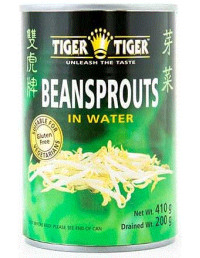 TIGER TIGER BEAN SPROUTS IN WATER - 410g