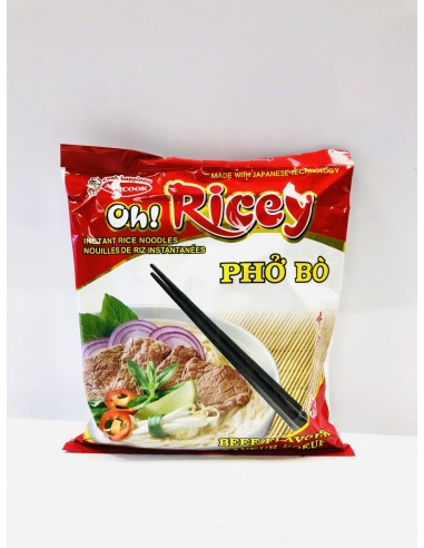 OH! RICEY INSTANT RICE NOODLE BEEF - 70G