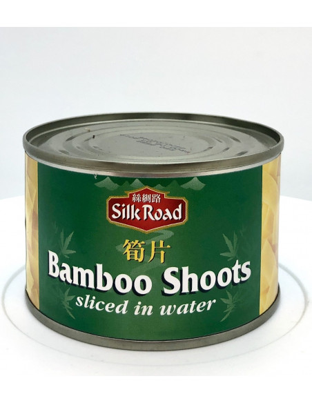 SILK ROAD BAMBOO SHOOTS SLICED IN WATER - 227g