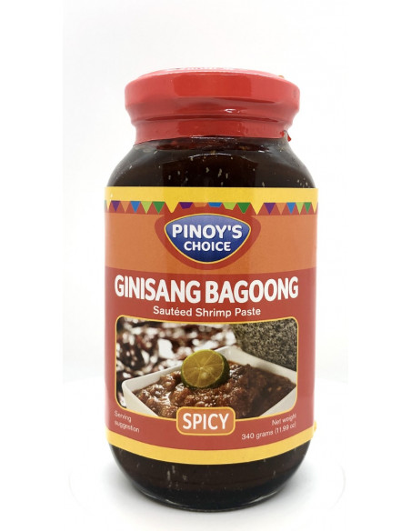 PINOY'S CHOICE GINISANG BAGOONG SPICY FLAVOUR - 340g