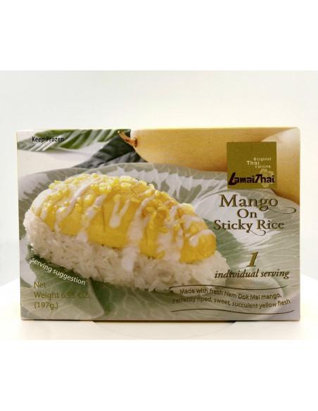 LAMAI THAI MANGO STICKY RICE WITH COCONUT MILK - 197g