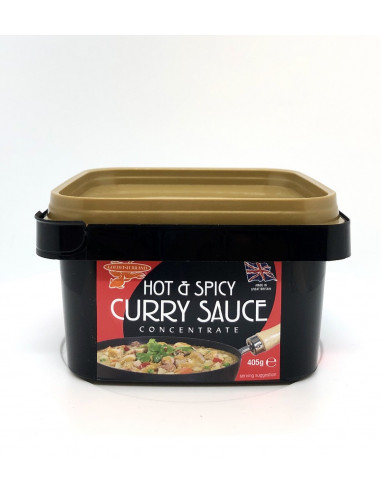 GOLDFISH HOT&SPICY CURRY SAUCE - 405g