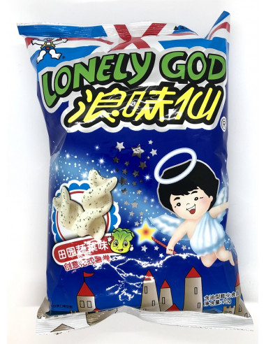 WANG WANG LONELY GOD CRACKERS ORIGINAL FLAVOUR - 70g