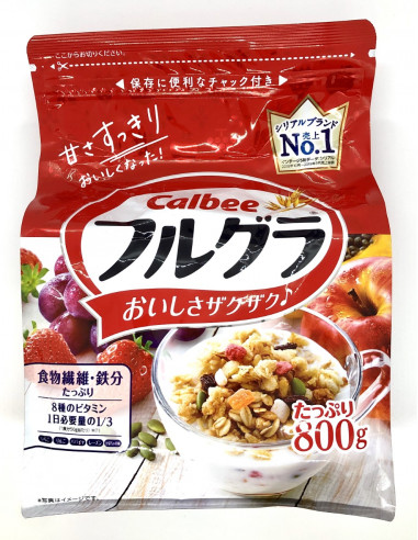 CALBEE FRUITS CRANOLA - 800g