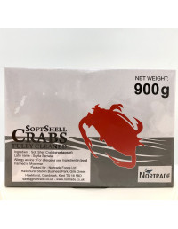 NORTRADE FULLY CLEANED SOFT SHELL CRABS - 900g