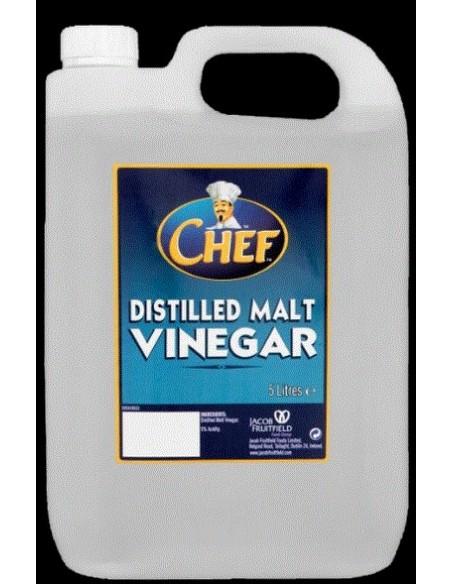 Distilled Vinegar - 5l - Chef