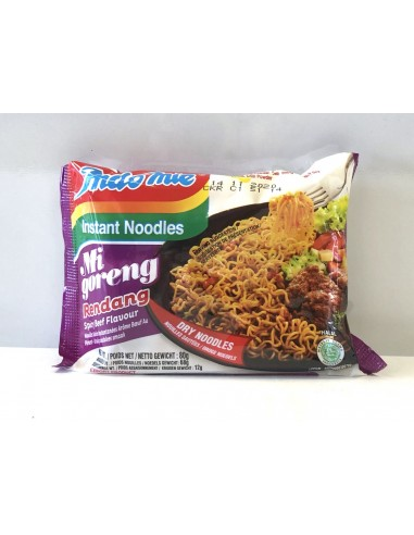 INDO MIE INSTANT NOODLES SPICY BEEF -...