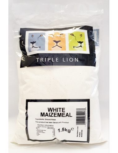 TRIPLE LION WHITE MAIZEMEAL 1.5KG