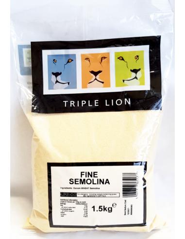 TRIPLE LION FINE SEMOLINA 1.5KG