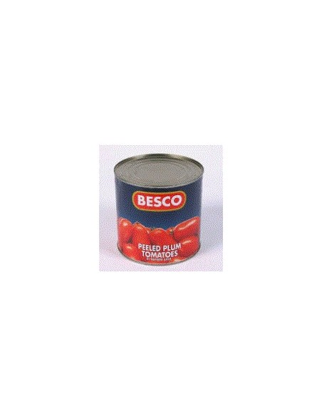 Peeled Plum Tomatoes - 2.55kg - Besco