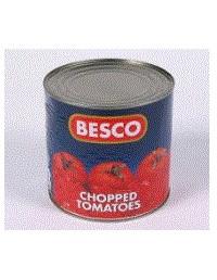 Chopped Tomatoes - 2.55kg - Besco
