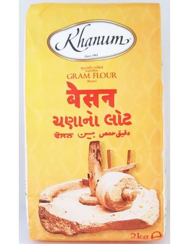 KHANUM GRAM FLOUR - 2KG