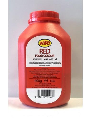 KTC RED FOOD COLOUR - 400g